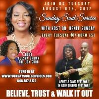Sunday Soul Service Topic Deliverance Host The Joy Guru Alesha Brown