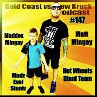 Matt Mingay – Maddox Mingay – Hot Wheels Stunt Team – Stadium Super Trucks – #147 - Gold Coast vs Drew Kruck