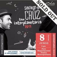 Entrevista Santiago Cruz • Contar hasta 3 #TourInterplanetario