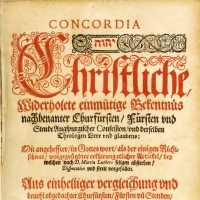 Book of Concord Readings