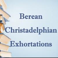Christadelphian exhortations