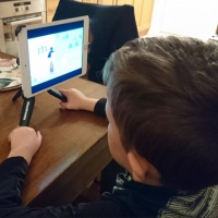 Learning at home with help from teens