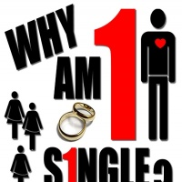 Being single is tough I know!