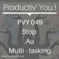 PVY049 STOP AU MULTI-TASKING