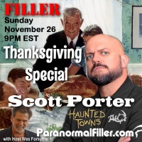 Scott Porter on Paranormal Filler