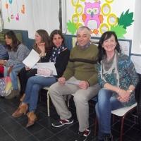 La Docente y Narradora Teresa Prost visito Casbas