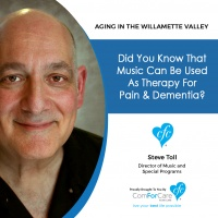 1/2/18: Steve Toll with ComForCare Home Care | Did you know that music can be used as therapy for pain & dementia?
