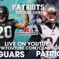 [POSTGAME] New England Patriots v. Jacksonville Jaguars   AFC Championship   Powered by CLNS Media