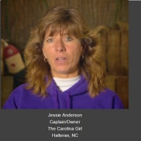 Captain Jessie Anderson of Carolina Girl Sport Fishing on #ConversationsLIVE