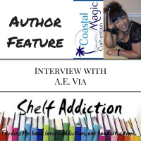 Ep 55: Author Interview with A.E. Via | #CMCon17 Feature