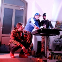 Bronx Dante live per #Blazup Party Little Italy Hosel