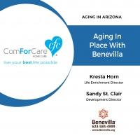 12/10/17: Kresta Horn and Sandy St. Clair with Benevilla   Aging in Place with Benevilla   Aging In Arizona with Presley Reader