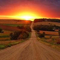 A New Sunrise With Old Friends, Dirt Road Sunset On ITNS Radio!