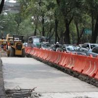 Suspenden obras de Línea 7 de Metrobús