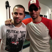 Garrett talks to Enrique Iglesias