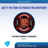 7/30/17: Captain Derrick Johnson with Phoenix Fire Department | Safety Tips from the Phoenix Fire Department | Aging In Arizona with Presley