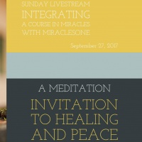 """""""Invitation to Healing and Peace"""""""