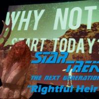 "Season 2, Episode 13: ""Rightful Heir"" (TNG) with John Jackson Miller"