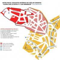 Cuéllar: Los Arrabales (ruta 3).