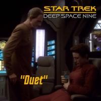 "Season 3, Episode 2: ""Duet"" (DS9) with David R. George III"