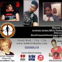 MidWeek MashUp hosted by @MokahSoulFly Show 60 June 21 2017 Guest Niecee X Asantewaa