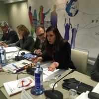Fin de la Comisión de Derechos Civiles y Participación e Inicio de la Comisión Delegada de Educación y Cultura