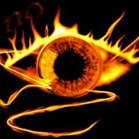 El ojo ardiente