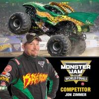 Monster Jam Driver Jon Zimmer(Grave Digger)