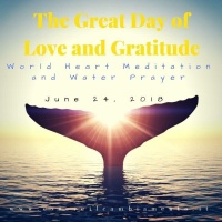 We are meditating and praying together for Mother Earth and for the Water 🌊💕🙏🏻sharing information and experience for a better world! 💗