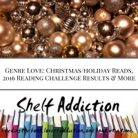 Ep 57: Genre Love: Christmas Theme, 2016 Reading Challenge Results