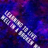 Learning from Jesus how to live well in a broken world...