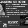 PARANORMAL INTO THE NIGHT With Heather L. Arnold Giants Of The Caribbean Ancient sites 2/11/17