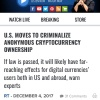 Red Alert US Senate Wants to force crypto disclosure