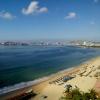 Las aguas de Acapulco.