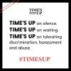 #MeToo and #TimesUp