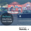 Experience the Belfast Political Taxi Tour, Peace Wall, Northern Ireland travel podcast