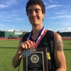 Oliver Houston of the Stratford Spartans Track & Field Team