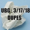 The Unpleasant Blind Guy : 3/17/18 - Dupes