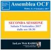 Assemblea OCF - 8/9 Settembre 2017 (SECONDA sessione)