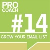 PC 014: How To Grow Your Email List