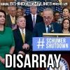 Democrat Disarray - From #SchumerShutdown to #ReleaseTheMemo