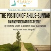 Ahlus-Sunnah on Innovation & its People