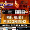 SSS: WNBL RD1 PRESS CONFERENCE INTERVIEWS 071017