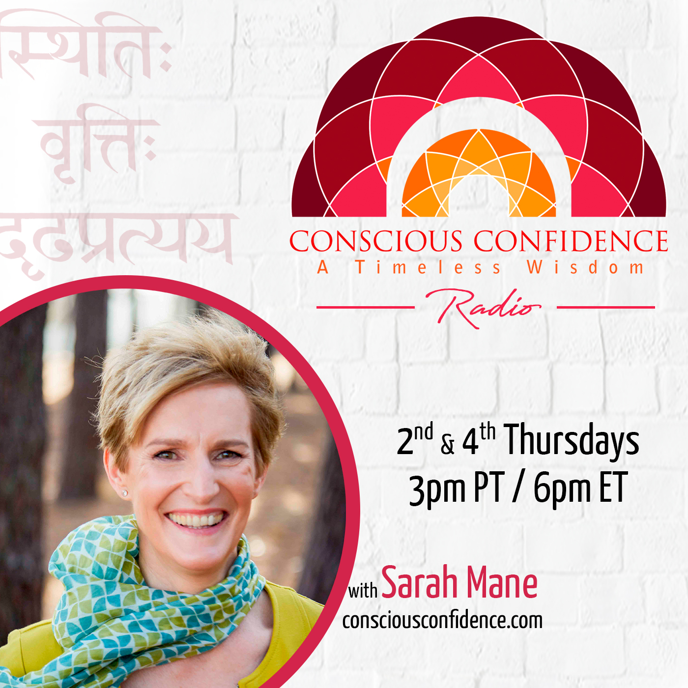Conscious Confidence Radio w/ Sarah Mane