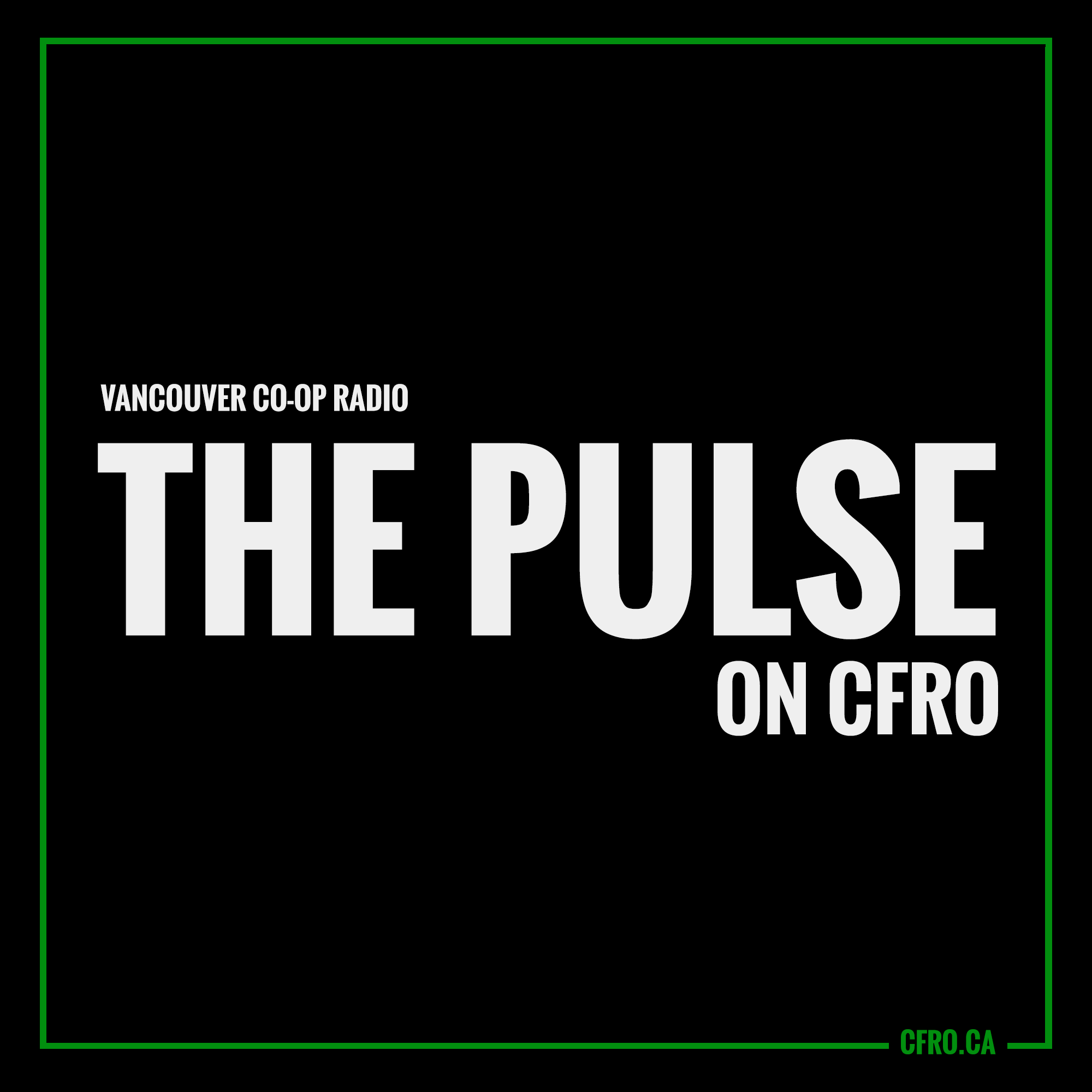CFRO The Pulse: Friday, September 24